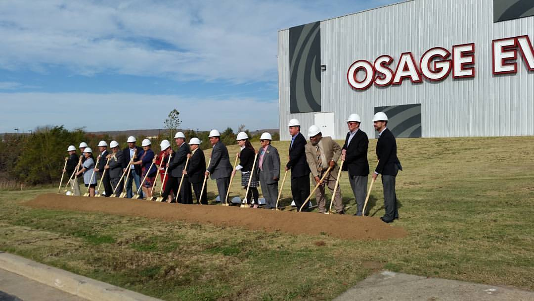 Osage Nation and Osage Casino celebrate start of Tulsa casino and hotel project