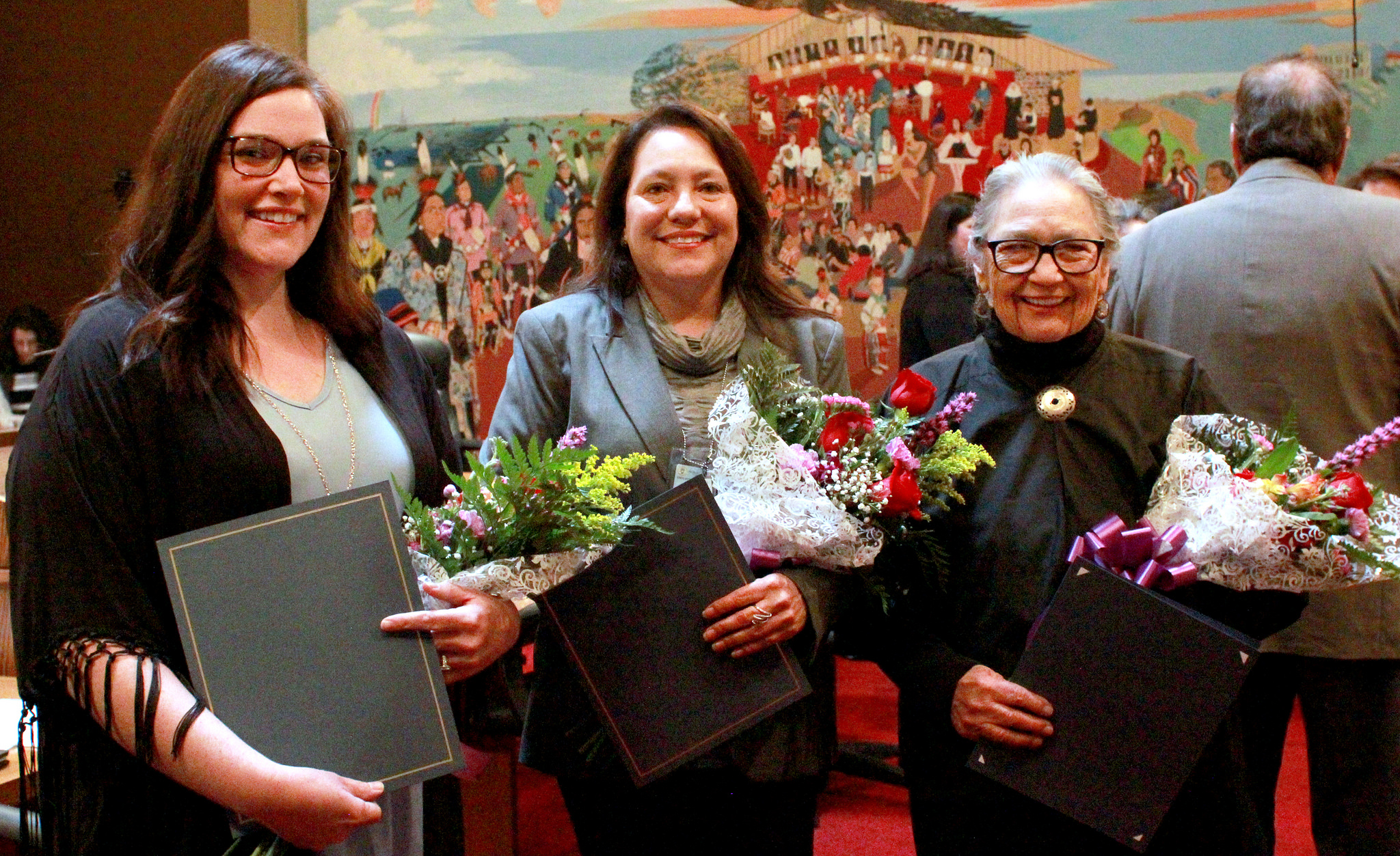 Fifth Osage Nation Congress honors three former Osage Tribal Councilwomen