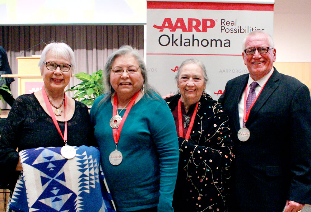 Four Osages honored at 9th Annual AARP Oklahoma Indian Elder Honors