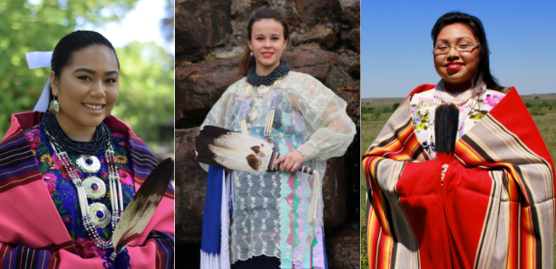 Osage Tribal Princess candidates introduce themselves and ask for your vote on May 28