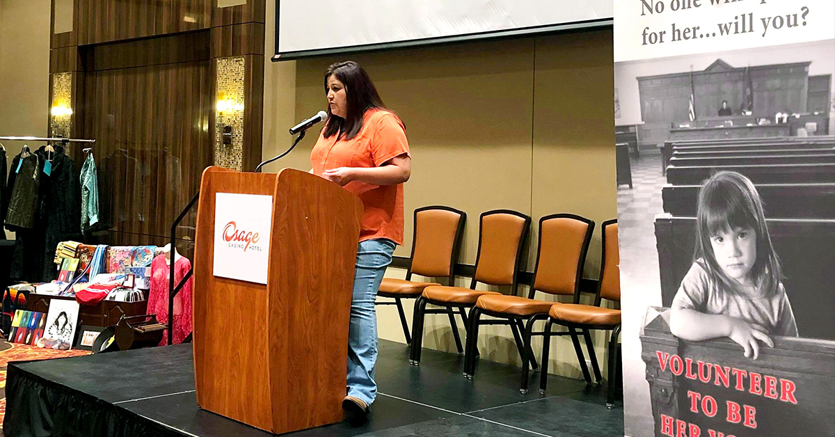 Women's Conference raises more than $8,000 for Osage/Pawnee CASA offices