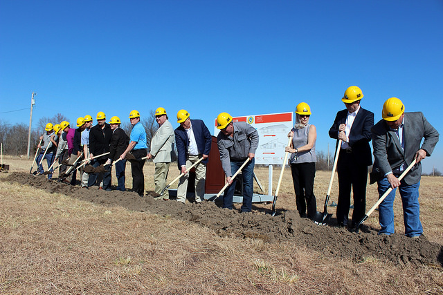 Osage Nation breaks ground on Skiatook housing project