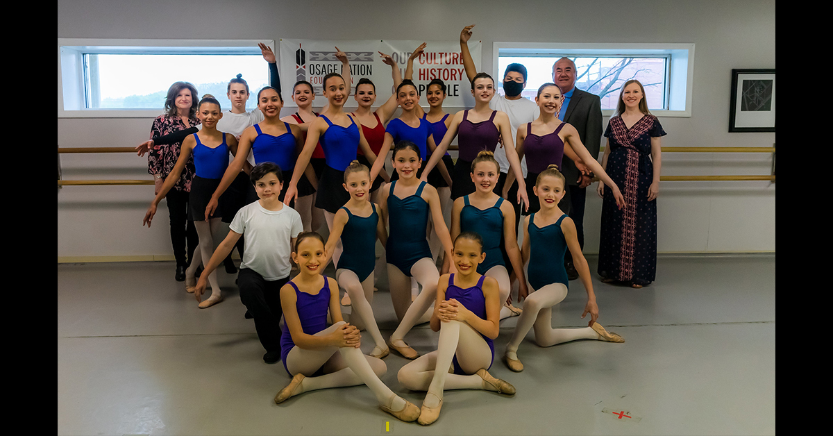 Osage Ballet to perform at The Mansion in Branson, Mo., Aug. 6-7