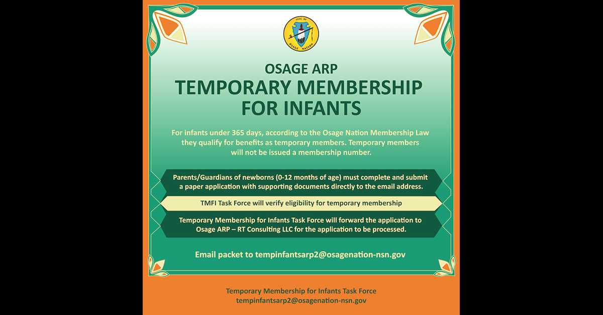ON opens temporary membership for infants allowing family with newborns to apply for Cash Assistance
