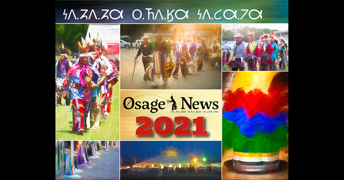 Osage News 2021 calendars available for sale