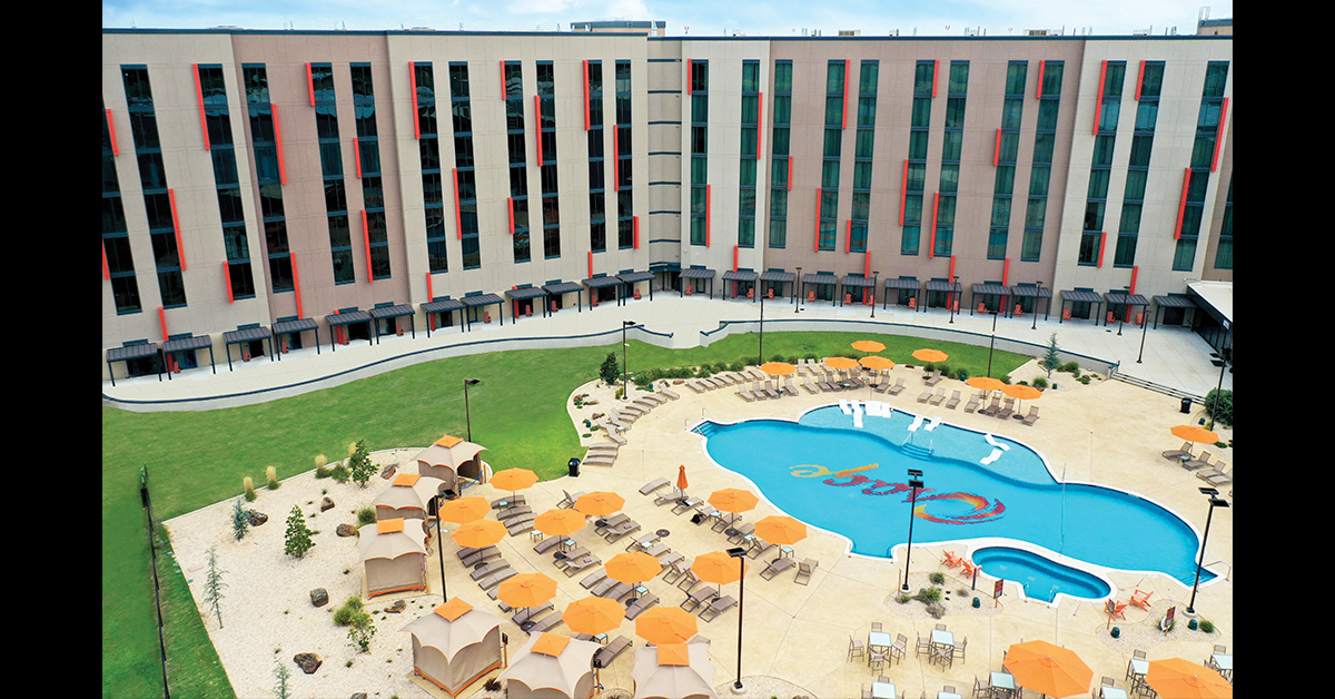 Osage Casino Hotel is ideal spot for business lunch or Saturday swim