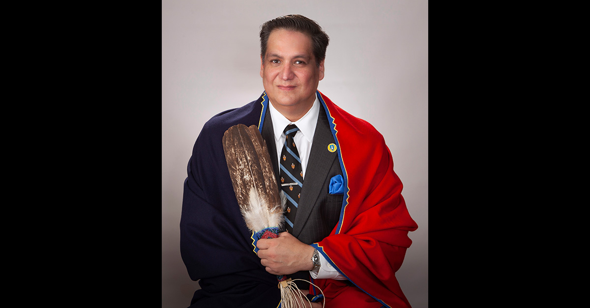 Michael Bristow announces his candidacy for Osage Nation Congress