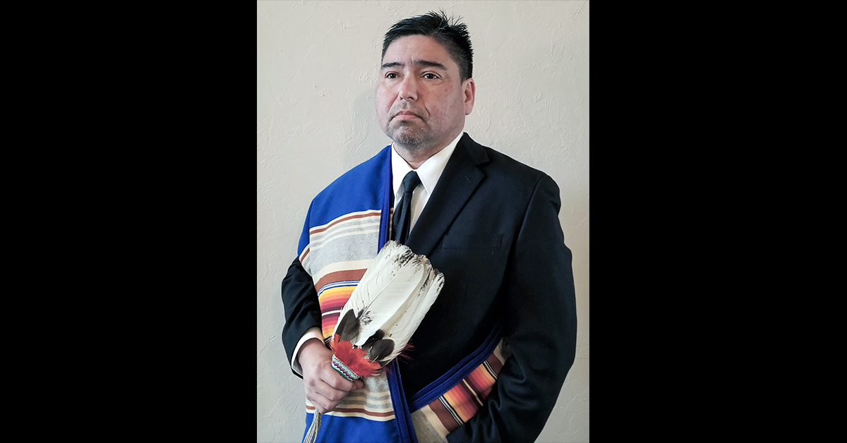 Michael Kidder announces his candidacy for Osage Nation Congress