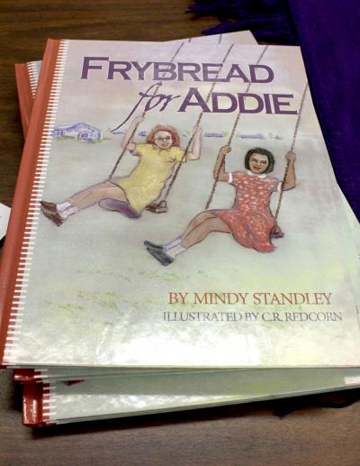 Osage publishes children's book, 'Frybread for Addie'