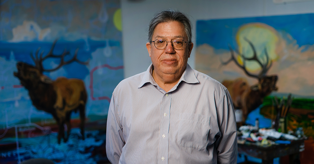Artist and educator Norman Akers examines borders, boundaries and migration