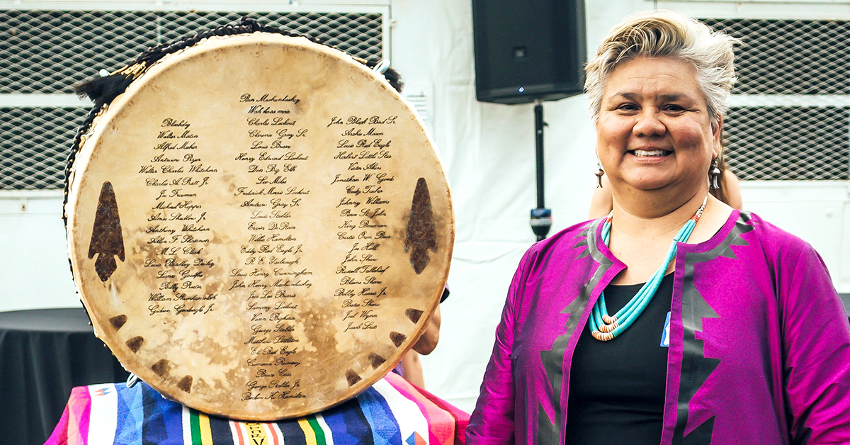 ON Foundation's 'Voices From The Drum' exhibit showcases Osage artistry