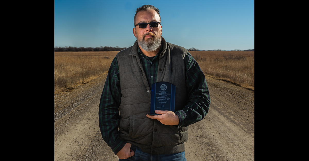 Osage songwriter wins Country Songwriter of the Year from Texas Country Music Association