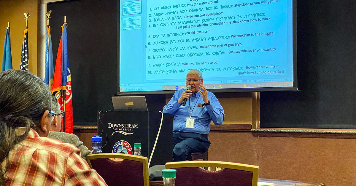 10th Annual Dhegiha Conference maintains mission of preserving indigenous languages