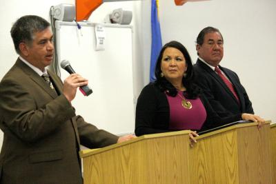 Osage Principal Chief candidates answer debate questions from the public