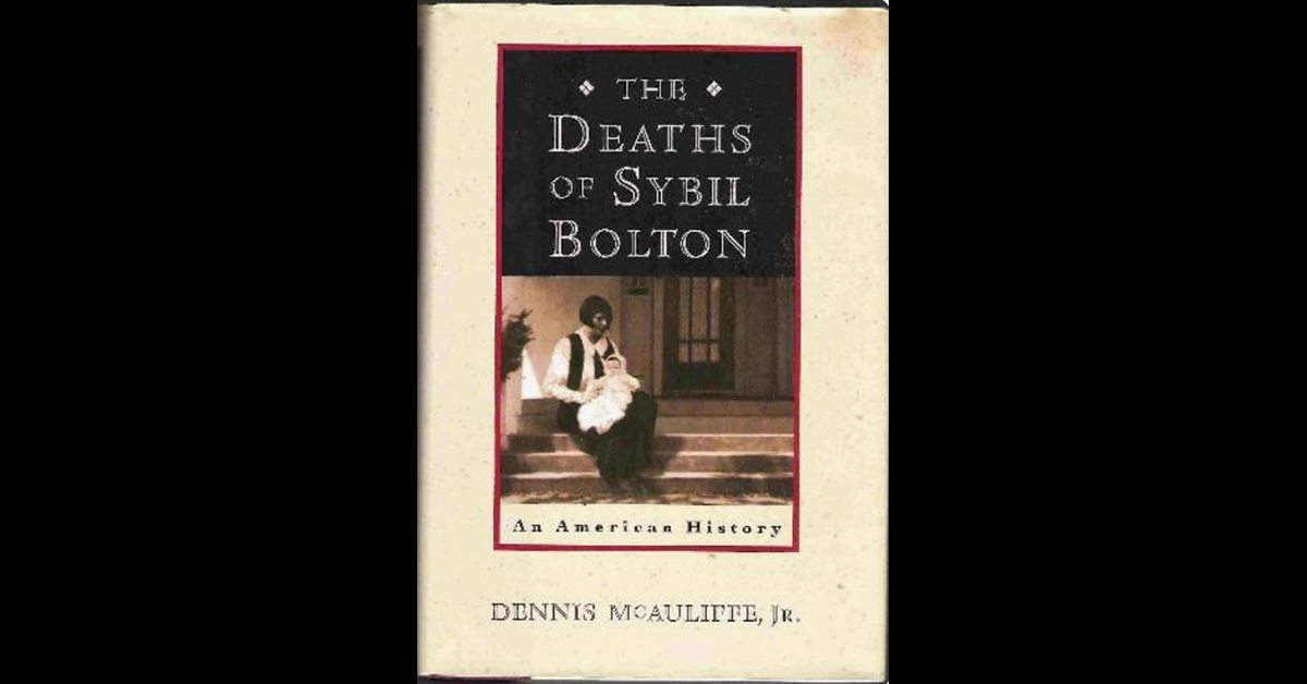 Full length play adaptation of 'The Deaths of Sybil Bolton' in works