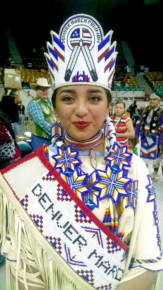 Osage youth crowned 2015-2016 Denver March Princess
