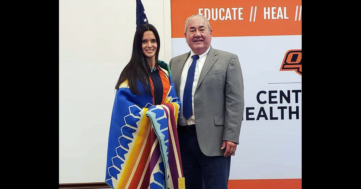 Piper Long named Outstanding American Indian Student at OSU ceremony