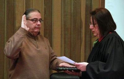 Scott N. BigHorse sworn in as Principal Chief of Osage Nation