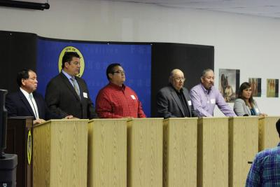 Fourth ON Congress candidates debate during 2014 Osage News election debates