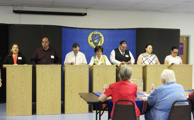 Third group of congressional candidates debate on May 4