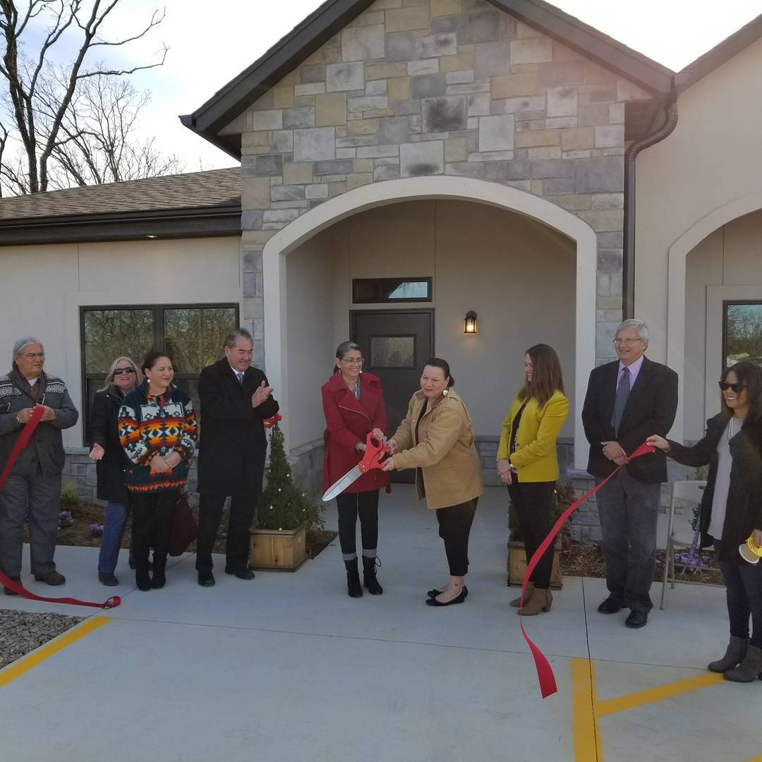 New Osage Nation domestic violence shelter and PRT facilities now open