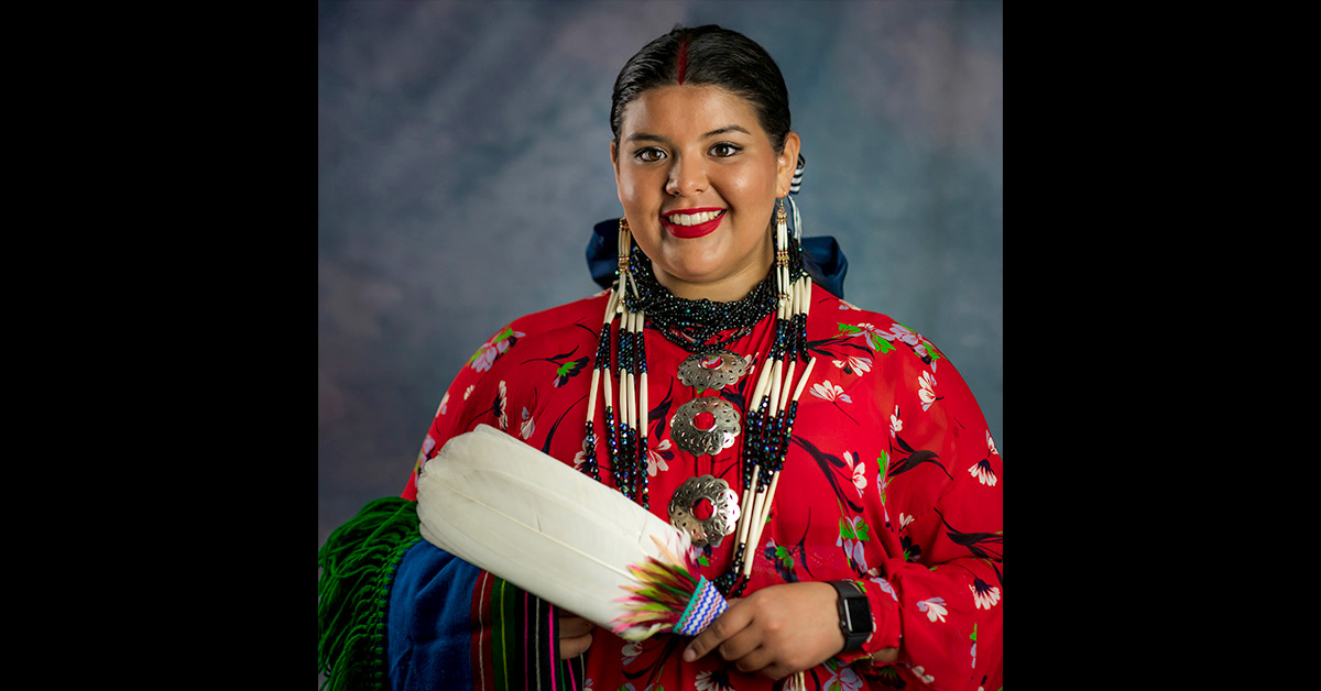 "Gianna ""Gigi"" Sieke named 2021-2022 Osage Nation Princess"