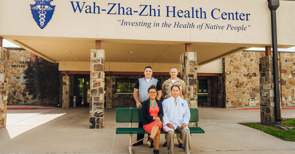 Wah-Zha-Zhi Health Clinic earns accreditation status