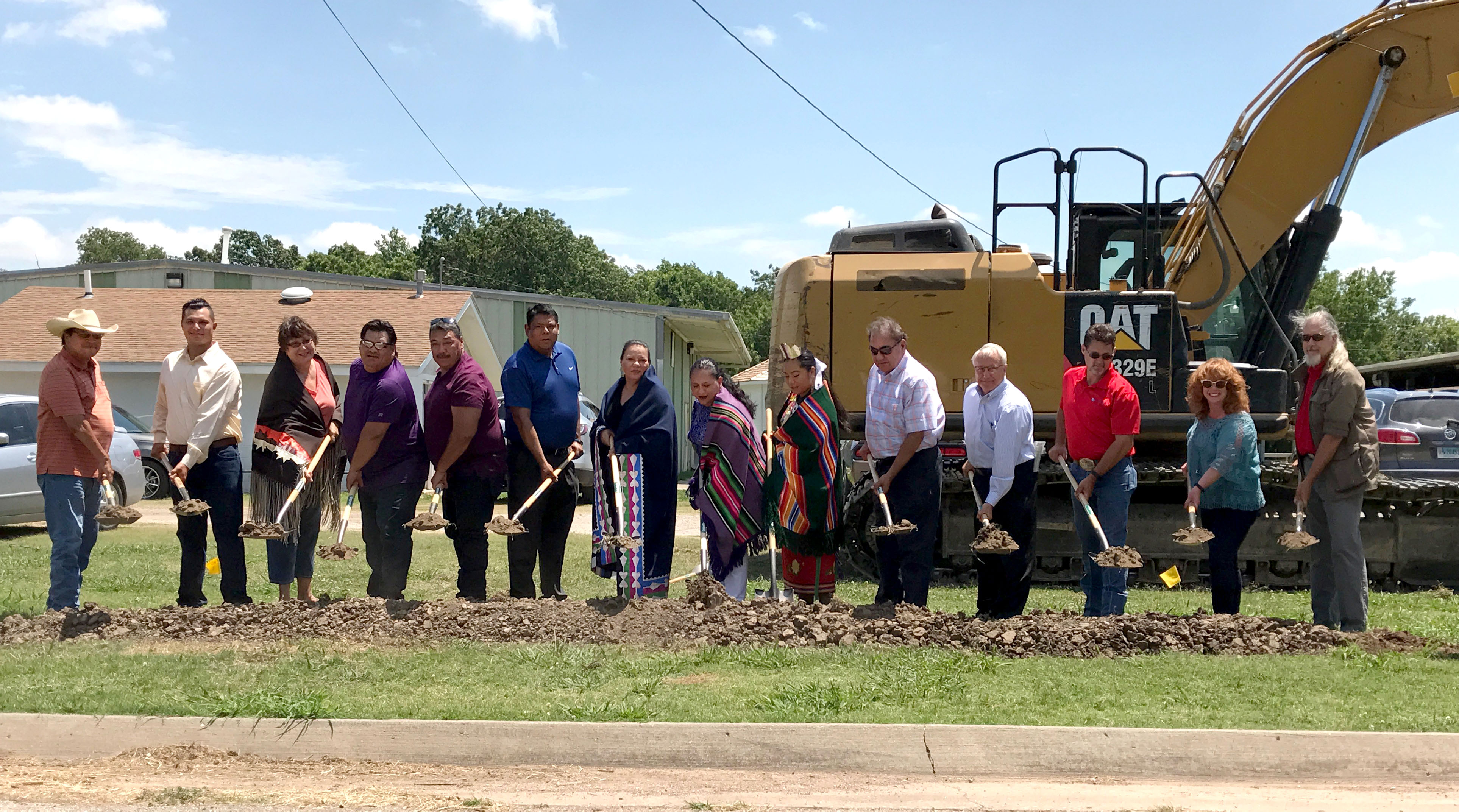 Osage Nation breaks ground on new Hominy Village Square