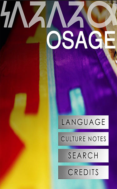Osage Language app, Wahzhazhe, ready for download