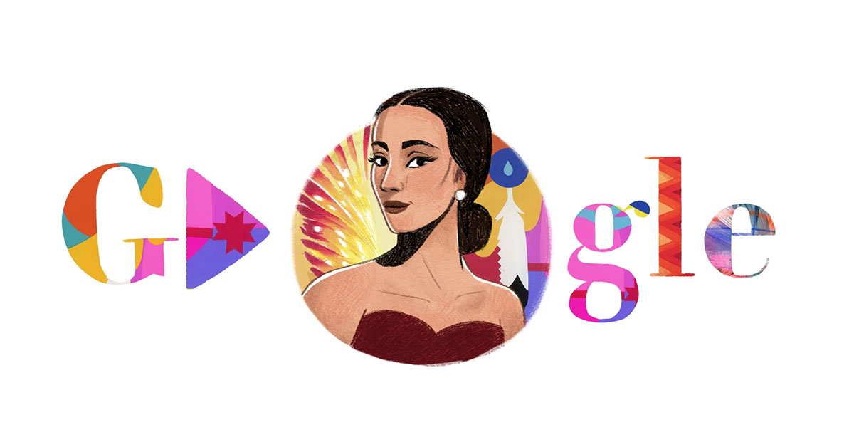 Prima Ballerina Maria Tallchief celebrated with a Google Doodle
