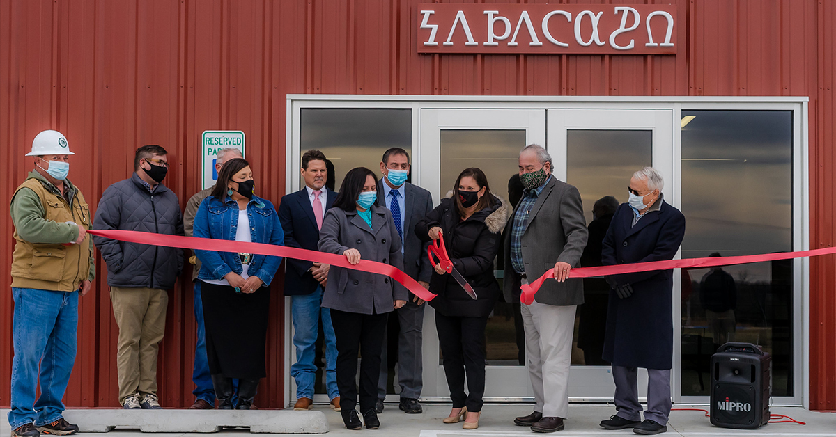 Officials celebrate opening of meat processing plant
