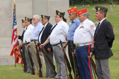 Osage Veterans honor the fallen on Memorial Day