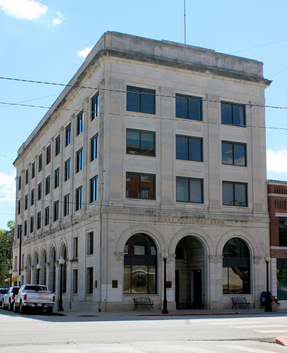 Osage Nation buys First National Bank building in Pawhuska