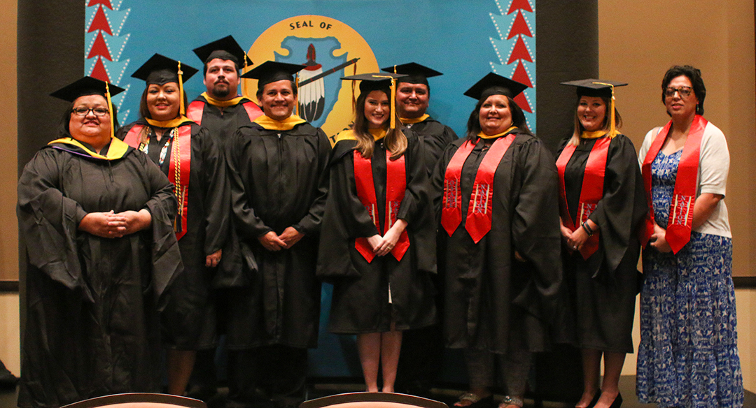 First class of Osage Nation Educational Leadership Academy receive master's degrees