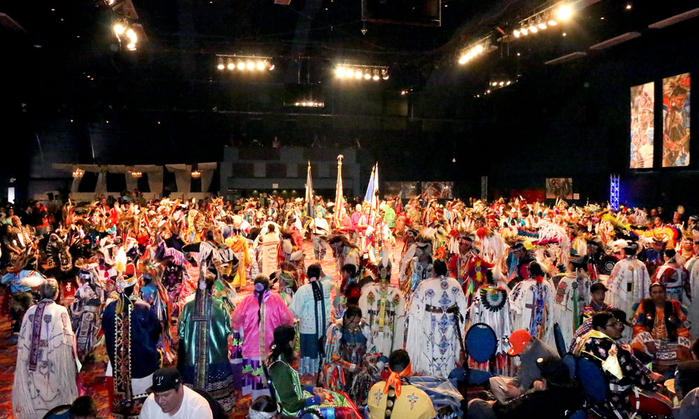 As Powwow Season ends, Osage dancers get ready for the Indian National Finals Powwow