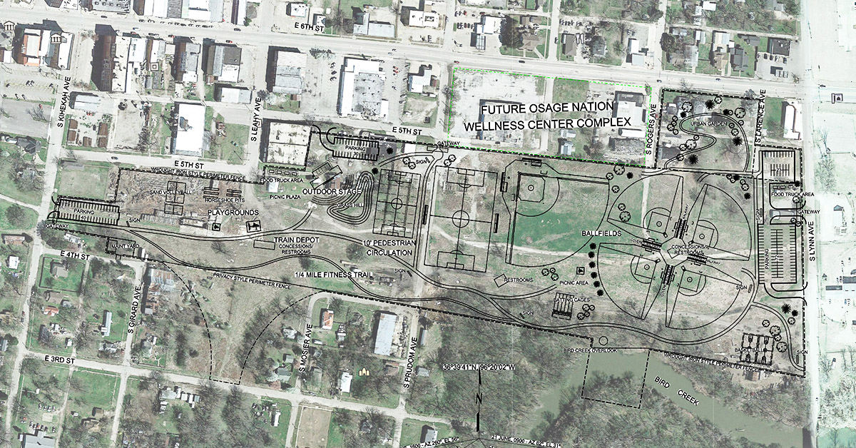 Nation acquires land on Pawhuska's Main Street for future health complex