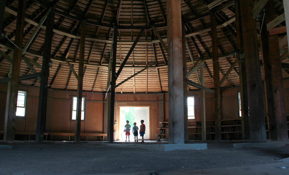 Hominy Roundhouse to be restored