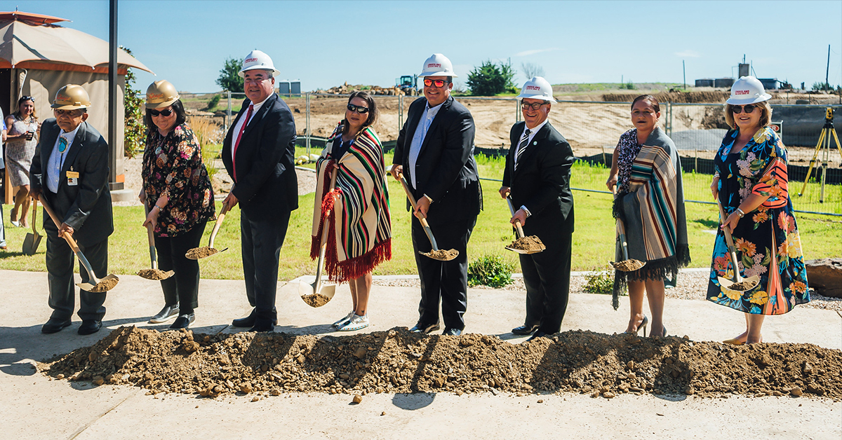 Osage Casino breaks ground on second Tulsa casino hotel tower