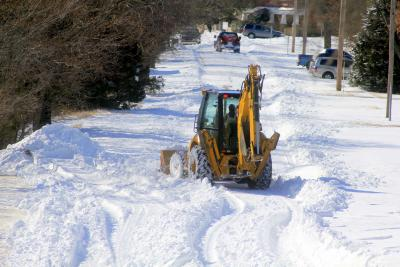 Osage employees worked in blizzard conditions for their community