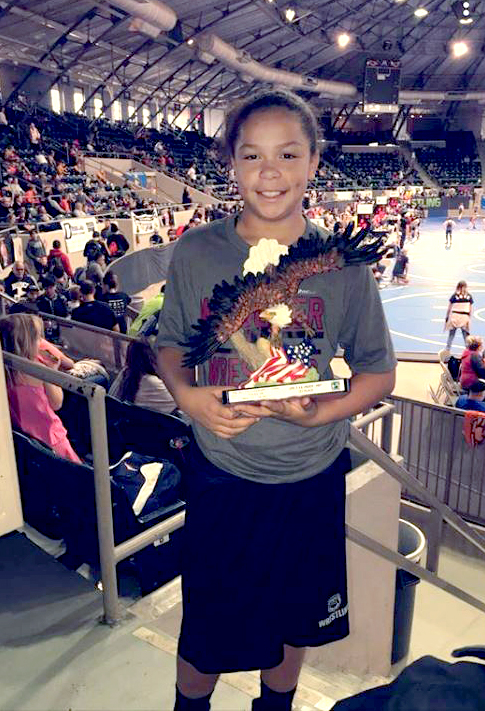 Osage youth wins the 2018 Girls Flo Reno World Championships in wrestling