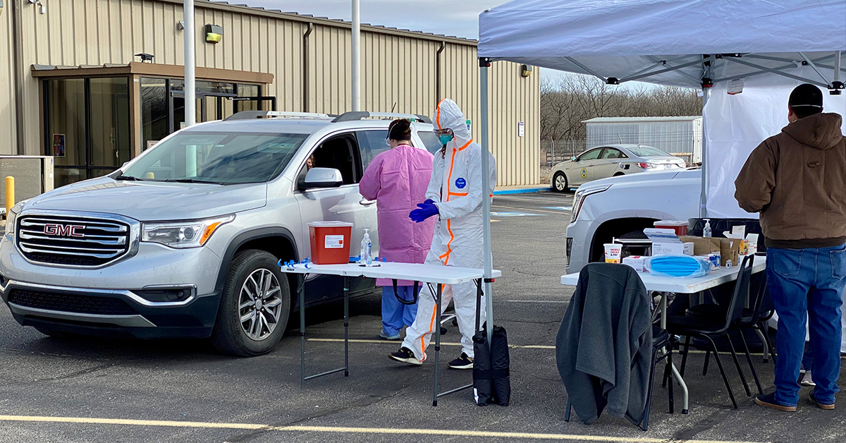 WZZHC hosts drive-thru COVID-19 vaccination event for patients age 55 and older