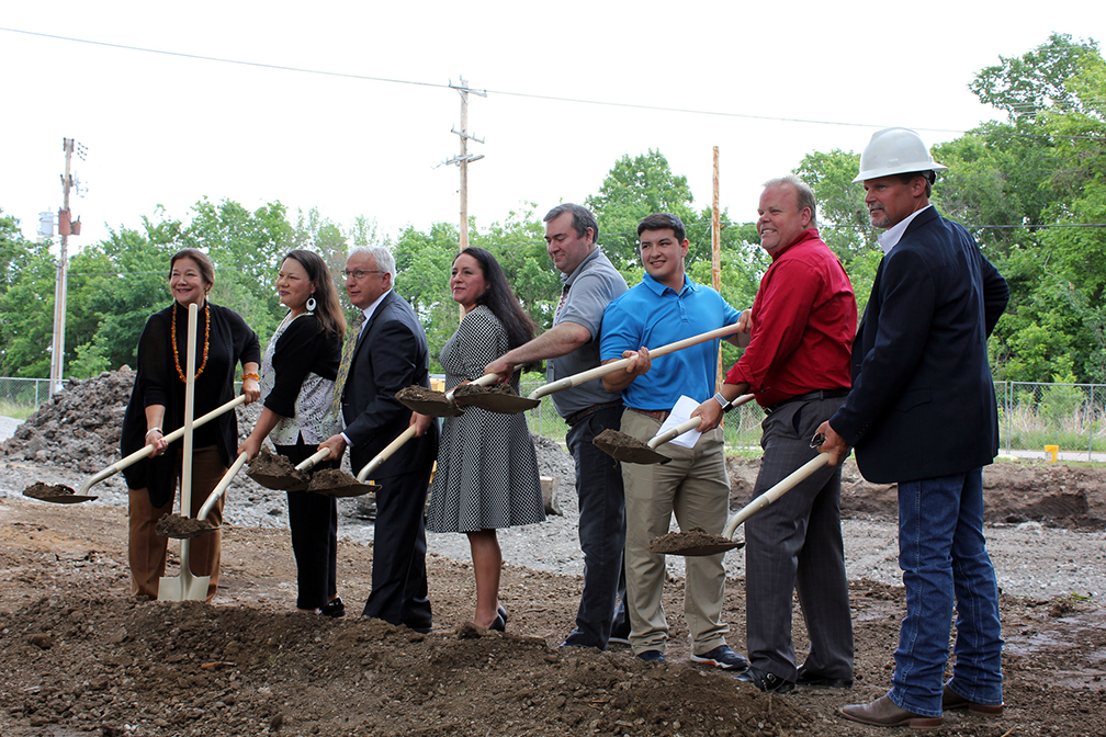 Osage Nation breaks ground on new Fairfax Wellness Center