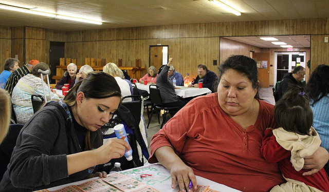 Pawhuska Five-Man Board hosts Christmas party with bingo