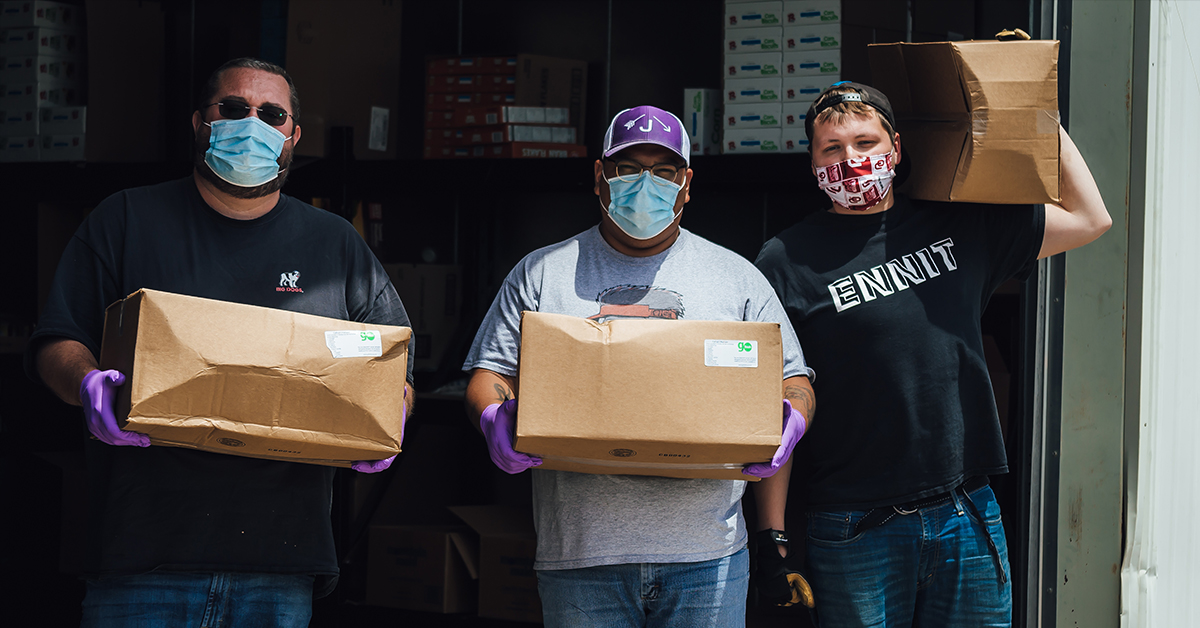 Osage Nation distributing weekly food boxes as part of COVID-19 relief efforts