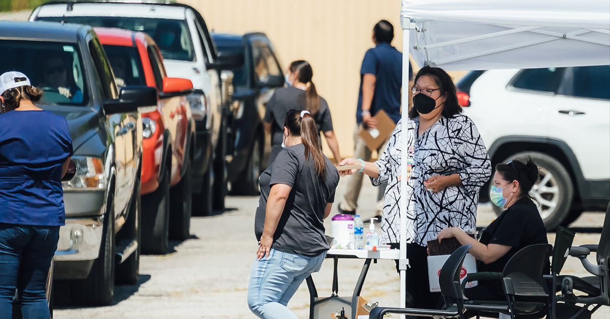 Osage Nation reports zero COVID-19 cases among its employees following testing event