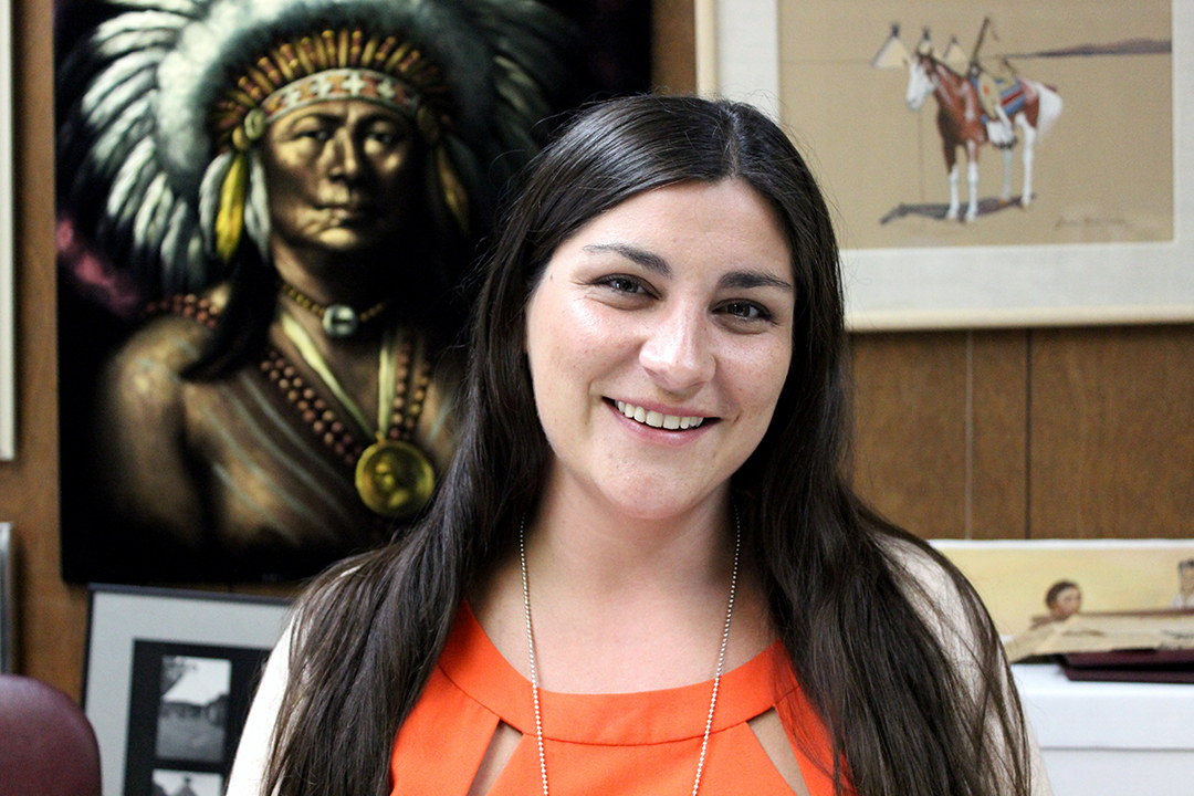 ON Museum Curator Hallie Winter named to 2018 Native American '40 Under 40'