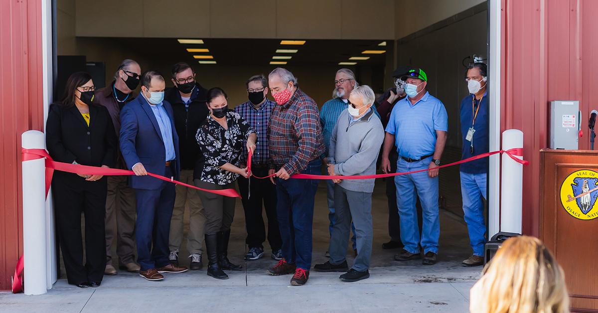 Osage Nation celebrates the opening of Harvest Land