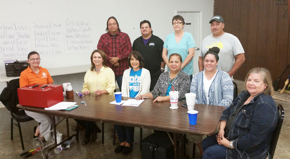 Hominy Indian Village votes in all-new board