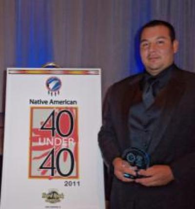 Berbon Hamilton is recipient of '40 under 40' award
