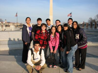 Educational opportunity in Washington D.C. for Osage high school students